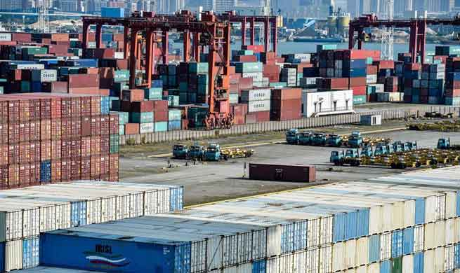 Container throughput hits 25.2 mln TEUs at Shenzhen Port in 2017
