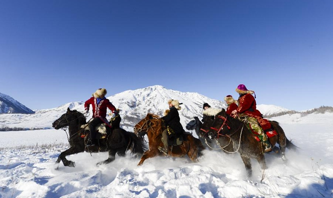 Winter tourism booming in Kanas, NW China's Xinjiang