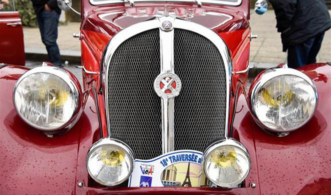 Highlights of 18th Paris Crossing of Classic Cars