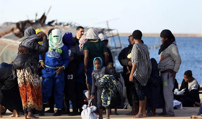 Nearly 300 immigrants rescued off Libyan coast