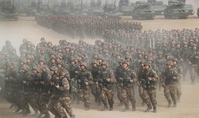 Album: China's armed forces training