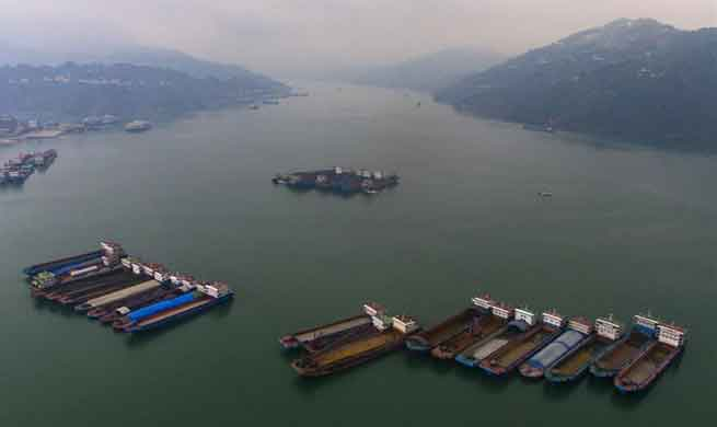 Throughput of Three Gorges Dam reaches 138 mln tonnes in 2017