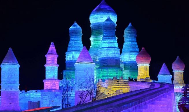 Icy Wonderland attracts tourists in NE China