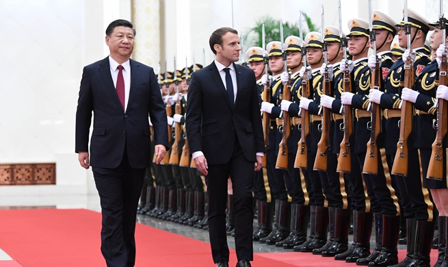 China, France agree to inject new impetus into bilateral ties