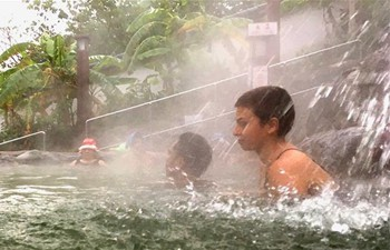 Take a look at hotsprings in Taipei's Beitou