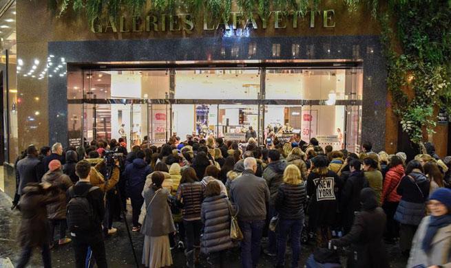 Six-week sales season of Paris kicks off