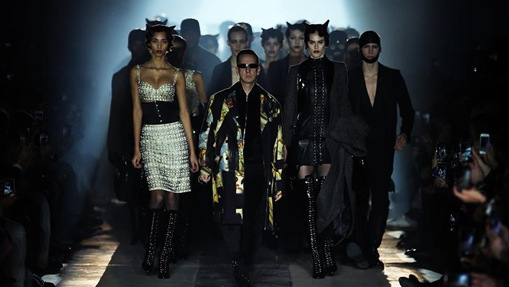 Moschino Menswear, Women's Pre-Collection at Milan Fashion Week
