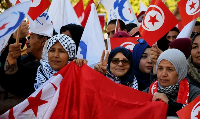 Tunisia marks 7th anniversary of popular uprisings toppling ex-president