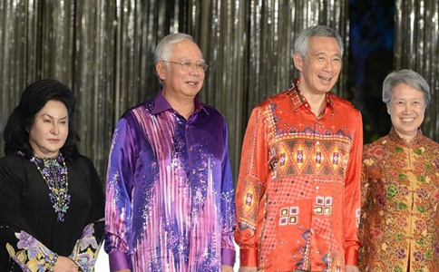 Malaysian PM, Singaporean PM attend opening ceremony of developments Marina One and DUO