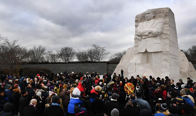 Various activities held across U.S. to honor Martin Luther King Jr.