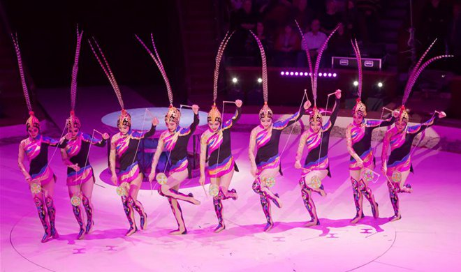 China, Mongolia win gold prizes at 12th Budapest Int'l Circus Festival