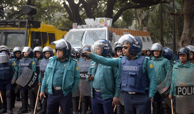 Bangladeshi former PM attends hearing at court in Dhaka