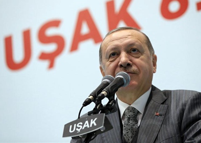 Turkey's Erdogan announces start of military operation in Syria's Afrin
