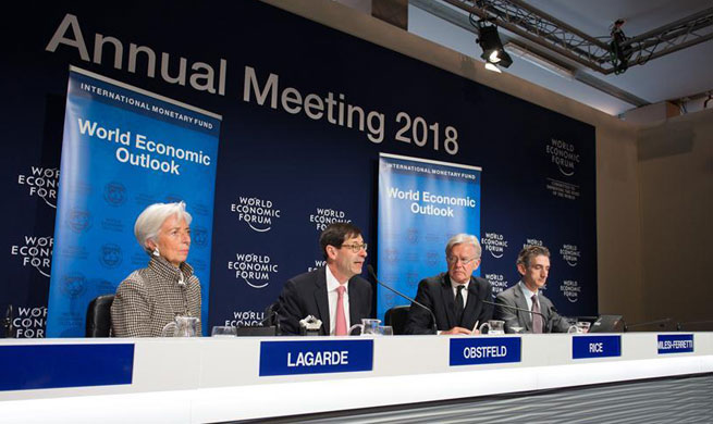 IMF raises global growth forecast due to increased growth momentum