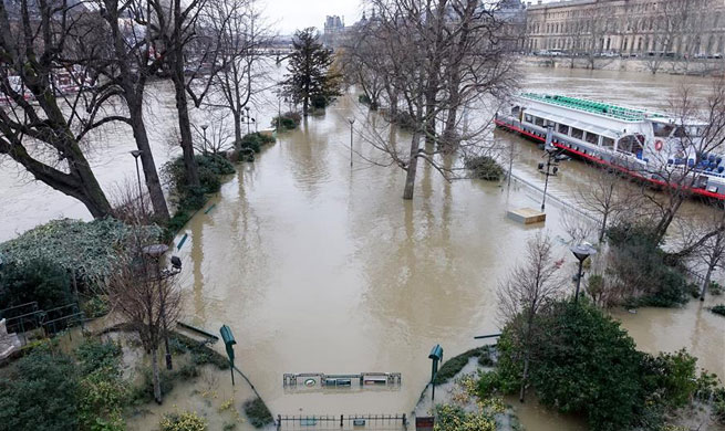 23 French departments on orange alert on floods risk