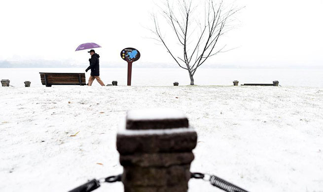 Heavy snow continues to hit central, eastern China