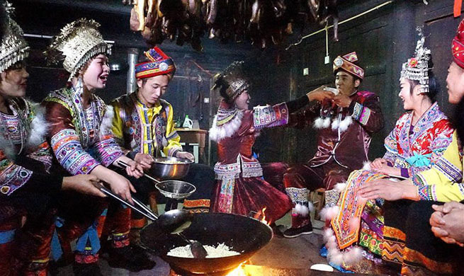 New Year festival of Miao ethnic group marked in south China's Guangxi