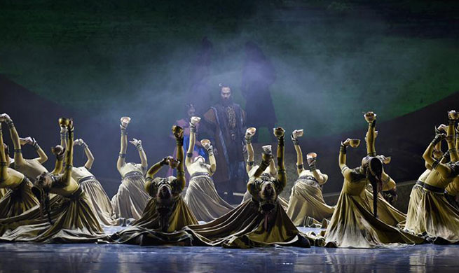 Chinese dance drama Caravan depicts ancient Silk Road trade routes