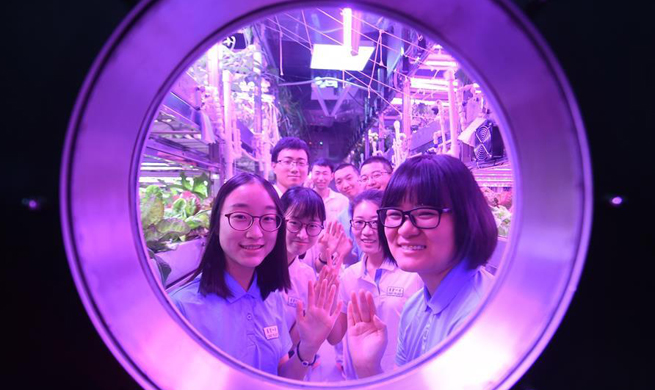 "200 days on ""moon"": China life support lab breaks record"