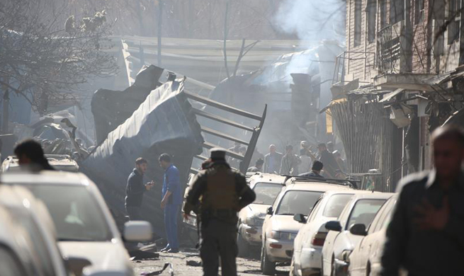 Death toll rises to 40 in Kabul car bomb blast: official