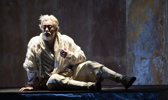 "Shakespeare's play ""King Lear"" staged in Beijing"