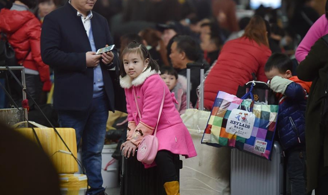 Spring festival travel rush to begin on Feb 1