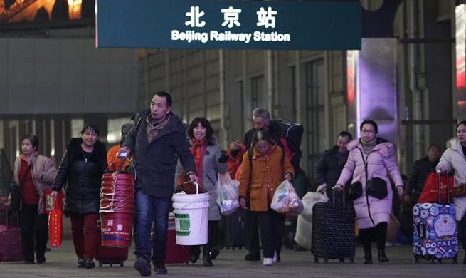 2018 Spring Festival travel rush kicks off