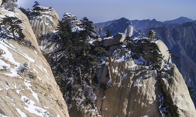 Appealing scenery in Huashan Mountain, northwest China