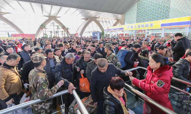 Some 2.98 billion trips expected to be made during Spring Festival travel rush