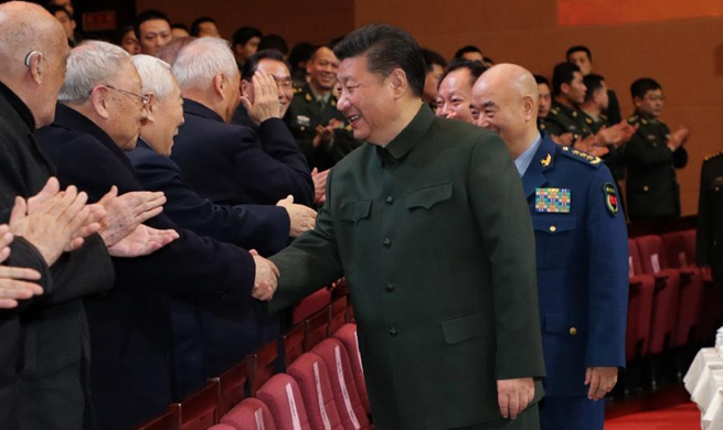Xi extends Spring Festival greetings to veterans