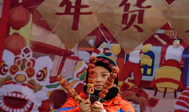 Folk custom festival held in Qingdao, E China's Shandong