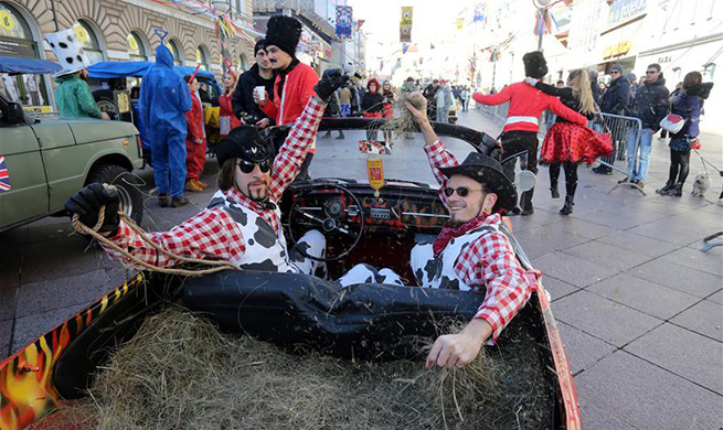 International Rijeka Carnival held in Croatia