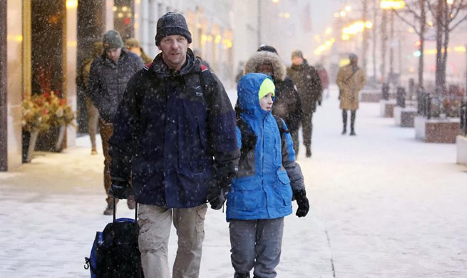 Winter storm hits Chicago area, causing cancellation of flights
