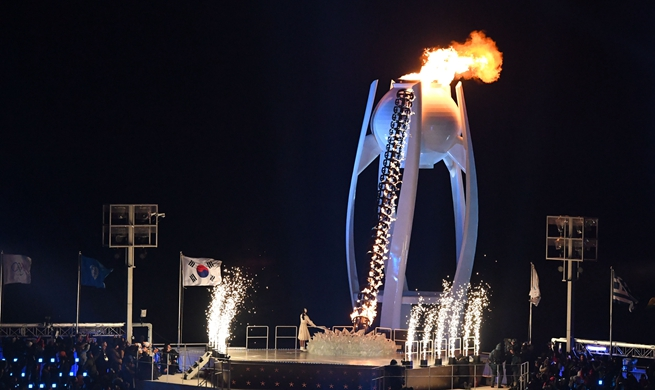 PyeongChang Winter Olympics open amid grand ceremony