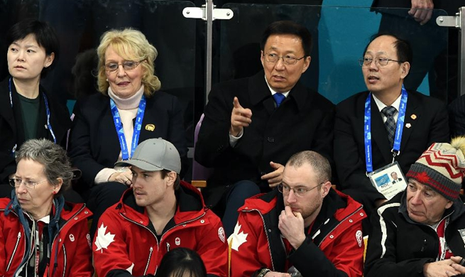Xi's special envoy watches curling event in S. Korea