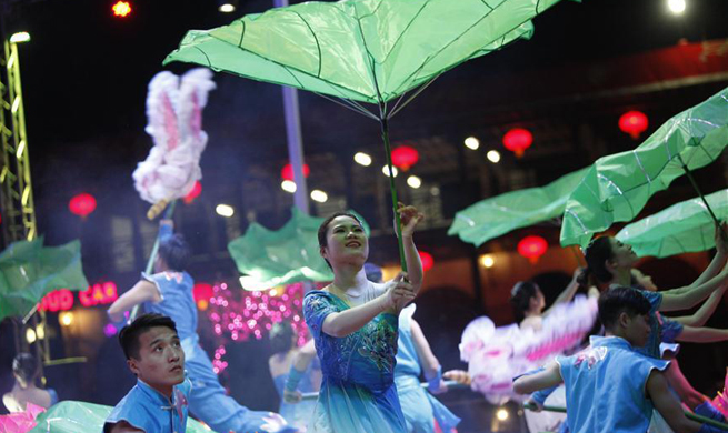 Temple fair held to celebrate Chinese Lunar New Year in Egypt
