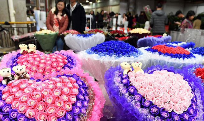 In pics: Flower industry in southwest China's Yunnan