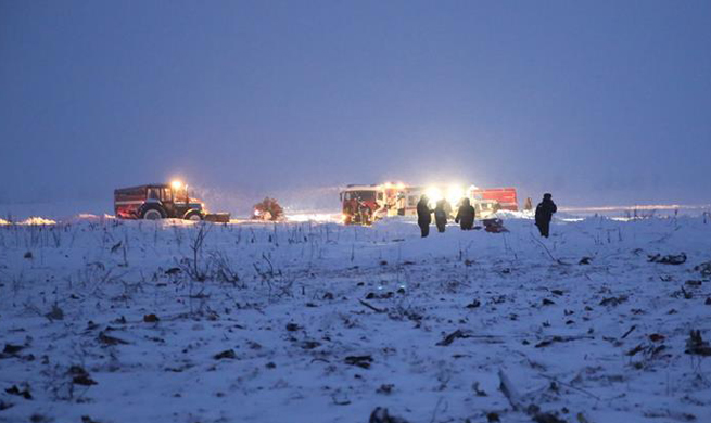 Passenger jet with 71 on board crashes in Russia