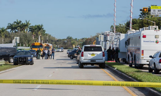 17 killed in Florida high school shooting