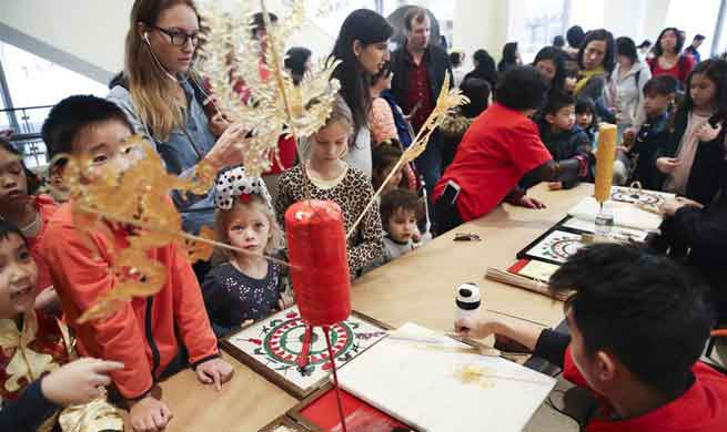 "Open day of ""2018 Happy Chinese New Year: Fantastic Art China"" held in New York"