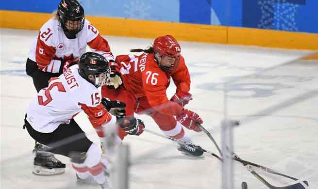 Canada thrash Russia 5-0 in women's ice hockey semi-final