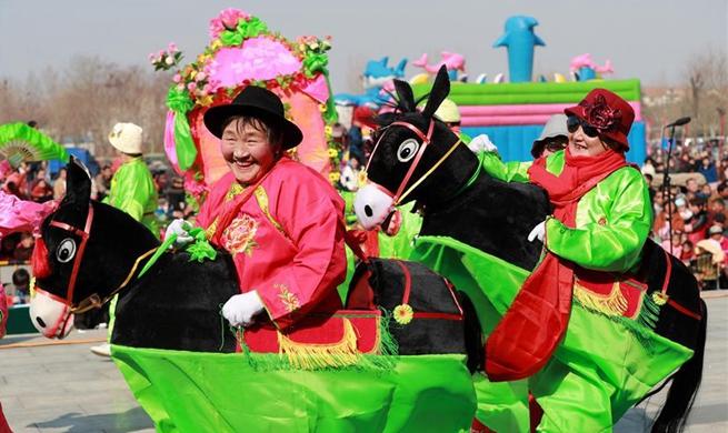 Folk fair held around China