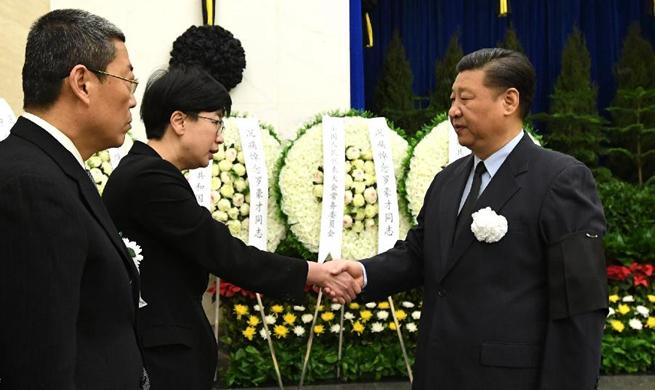 Late former senior political advisor cremated