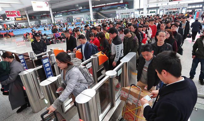 China's Guiyang railway to witness travel peak