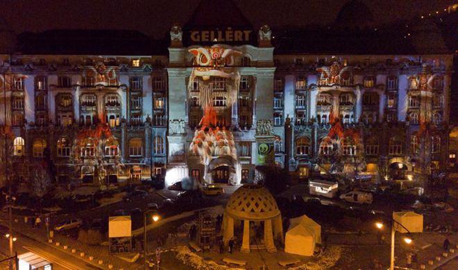 Light show at major Budapest hotel for EU-China 2018 Tourism Year