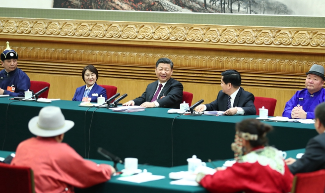 Chinese president stresses focus of developing high-quality economy