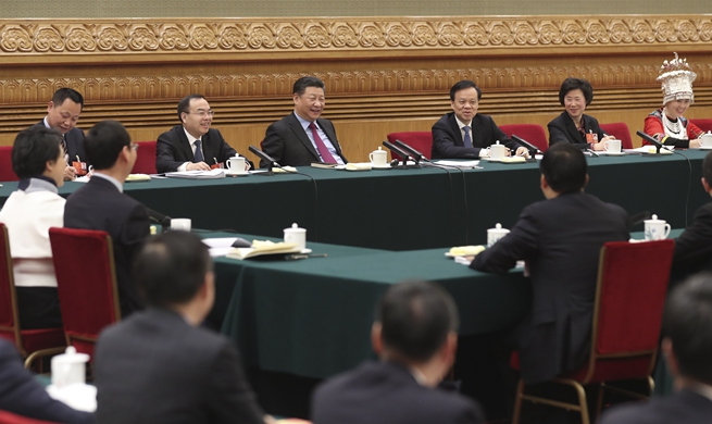 Xi underlines clean, upright political ecology