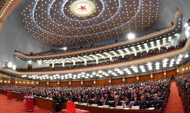 3rd plenary meeting of first session of 13th NPC held in Beijing
