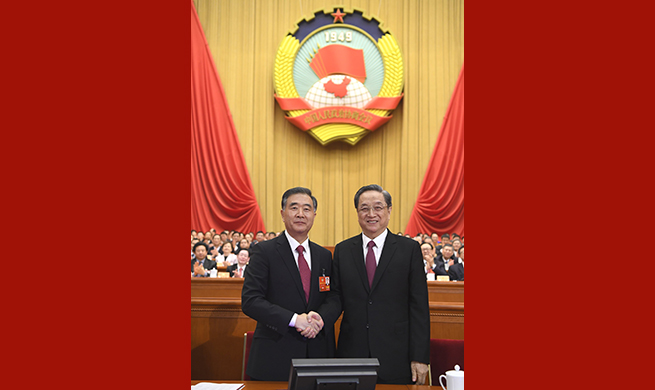 China Focus: Wang Yang elected chairman of China's top political advisory body