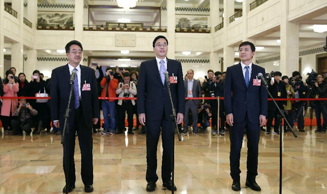 In pics: Interview ahead of closing meeting of 1st session of 13th CPPCC National Committee